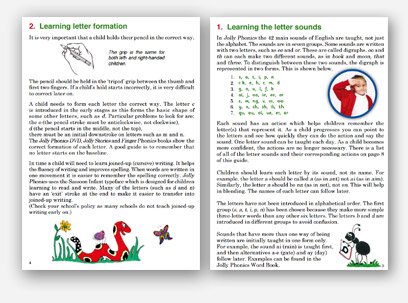 Parent Teacher Guides – Jolly Learning