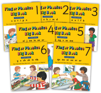 Finger Phonics Big Books 1-7 Print RGB