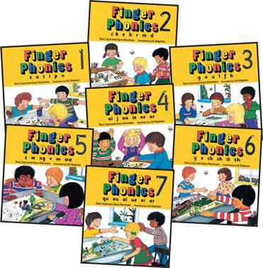 Finger Phonics Books 1–7 - Jolly Learning