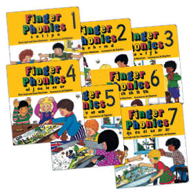 Finger Phonics Books