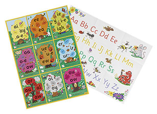 JL122-Jolly-Phonics-Alternative-Spelling-&-Alphabet--Posters