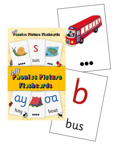 JL33X Jolly Phonics Picture Flashcards