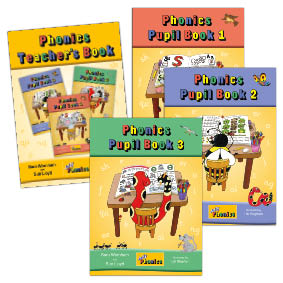 Jolly Phonics Pupil & Teacher's Books