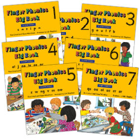 Finger Phonics Big Books
