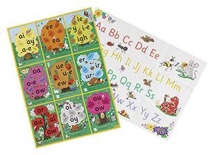 JL122-Jolly-Phonics-Alternative-Spelling-&-Alphabet–Posters