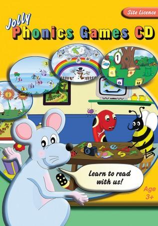 JL857 Jolly-Phonics-Games-CD-Site-License