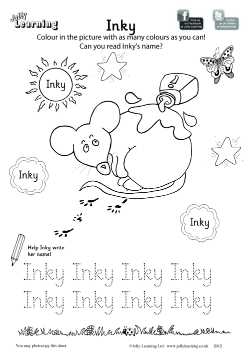 Colouring Worksheets - Jolly Learning
