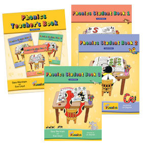 Jolly Phonics Student & Teacher's Books