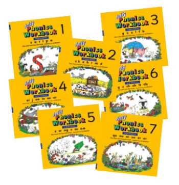 Jolly Phonics Workbooks