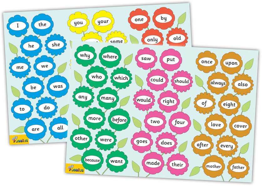 jolly phonics tricky word posters jolly learning