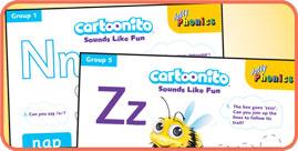 Cartoonio Activity Sheets