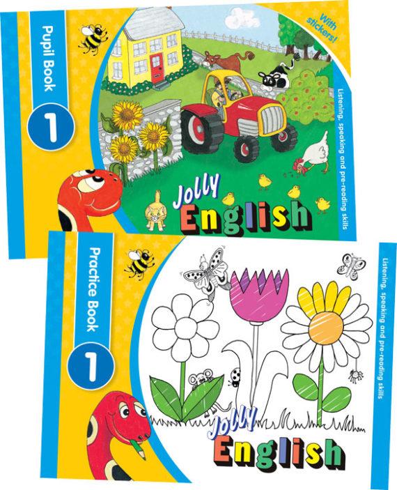 Jolly-English-Level-1-Pupil-Set