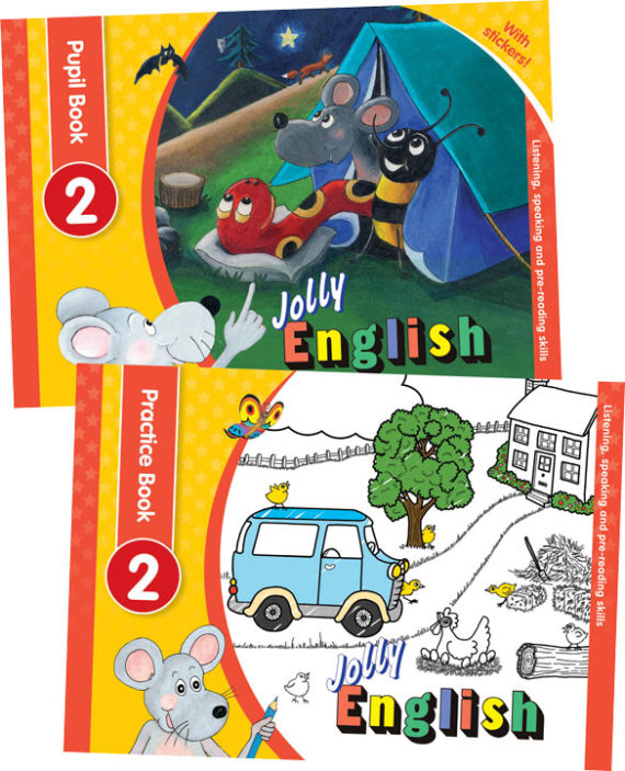Jolly-English-Level-2-Pupil-Set