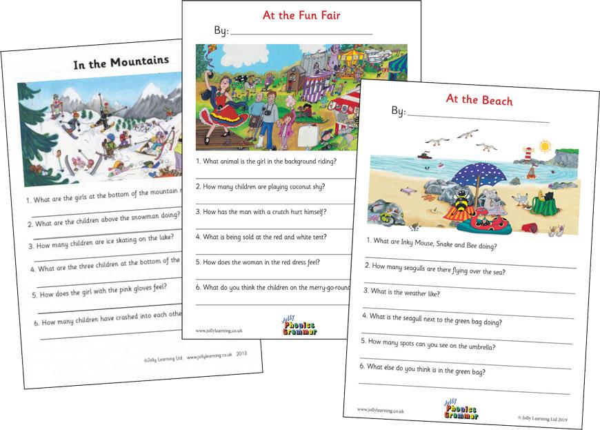 Resource Bank For Teachers And Parents - Jolly Phonics & Grammar