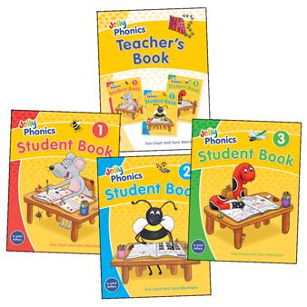 Jolly Phonics Student & Teacher's Books