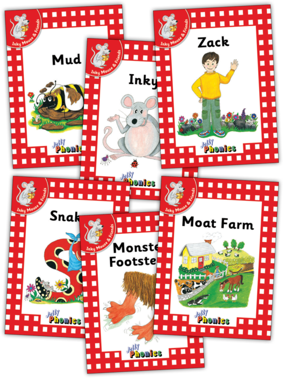 Jolly Readers Level 1 – 1 – Inky and Friends