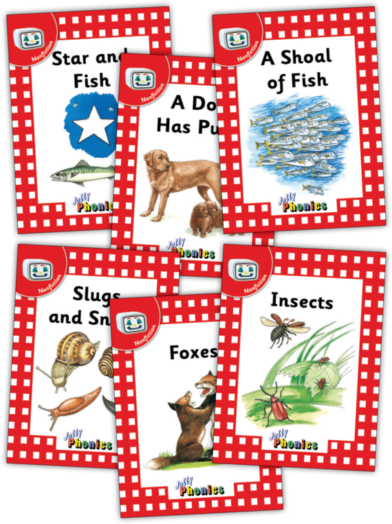 Jolly Readers Level 1 – 3 – Nonfiction
