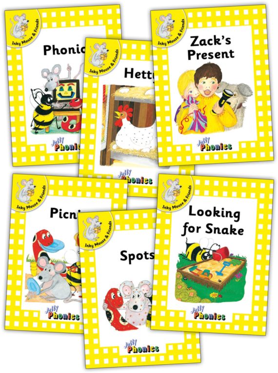 Jolly Readers Level 2 – 1 – Inky and Friends