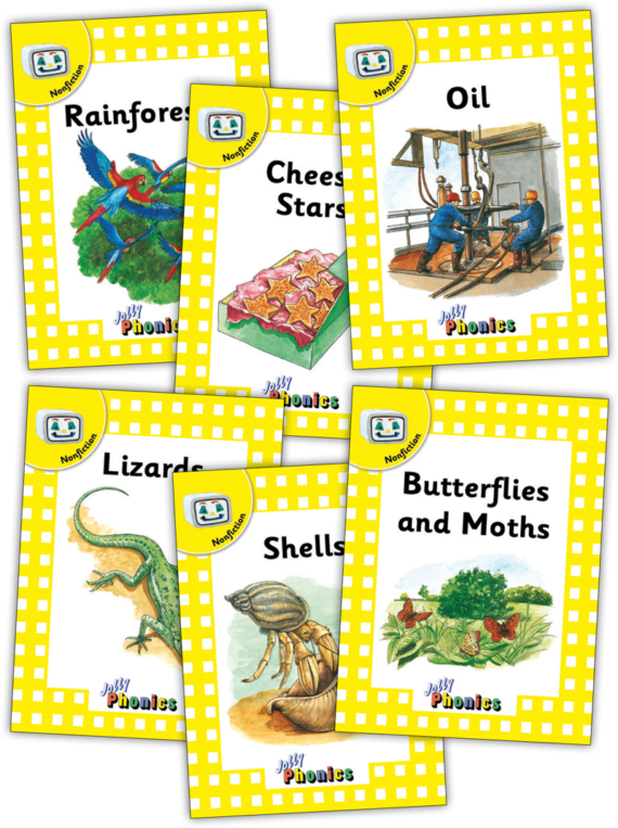 Jolly Readers Level 2 – 3 – Nonfiction