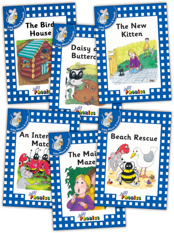 Jolly Readers Level 4 – 1 – Inky and Friends