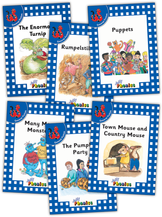 Jolly Readers Level 4 – 2 – General Fiction