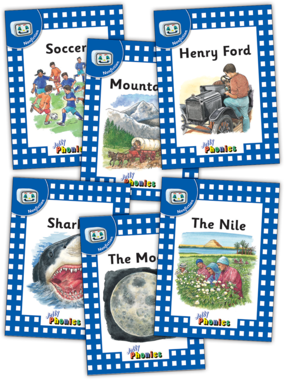 Jolly Readers Level 4 – 3 – Nonfiction