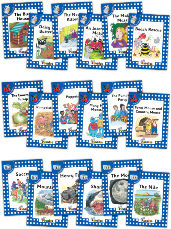 Jolly Readers Level 4 Complete Set