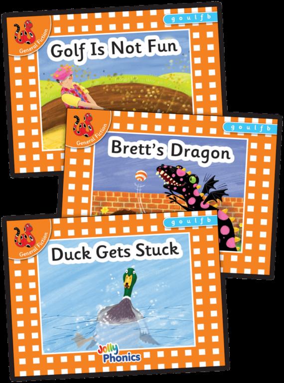 Jolly Phonics Orange Readers Prec Set 3