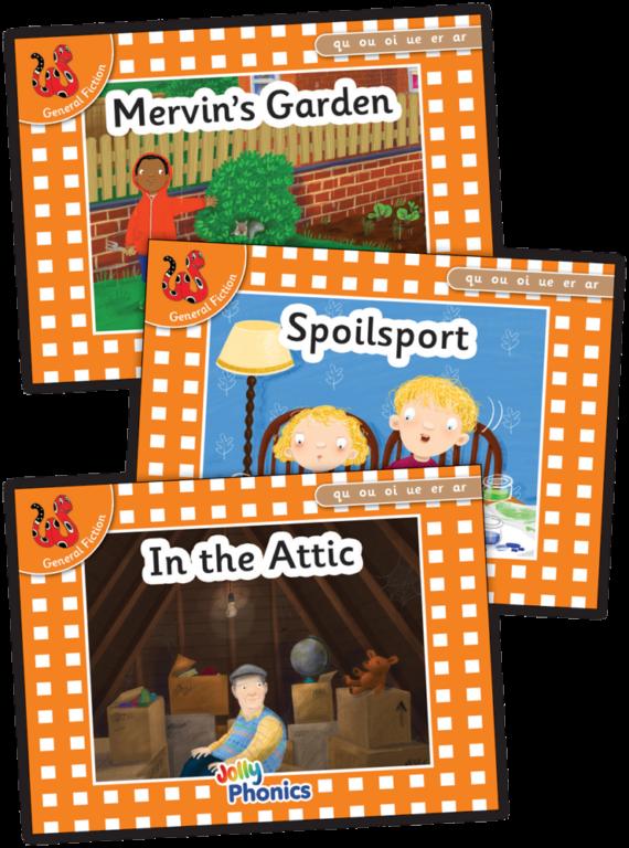 Jolly Phonics Orange Readers Prec Set 7